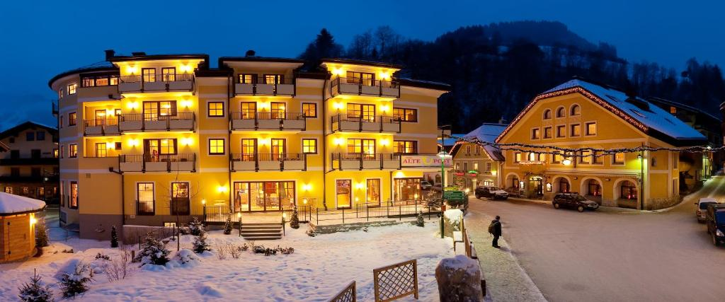 Hotel Alte Post im Winter