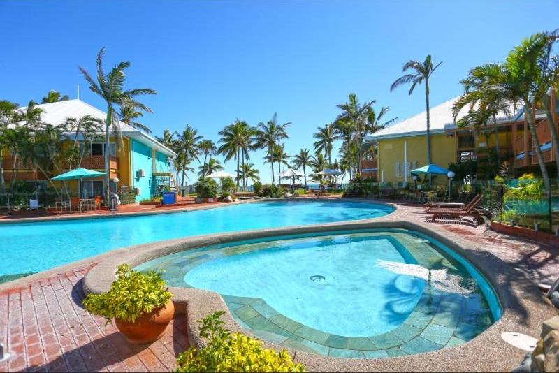 The swimming pool at or near Ocean View Resort Apartment