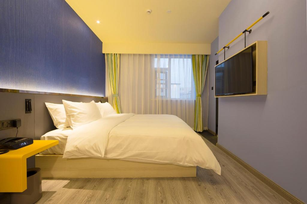 A room at the Ibis Style Beijing Capital Airport.