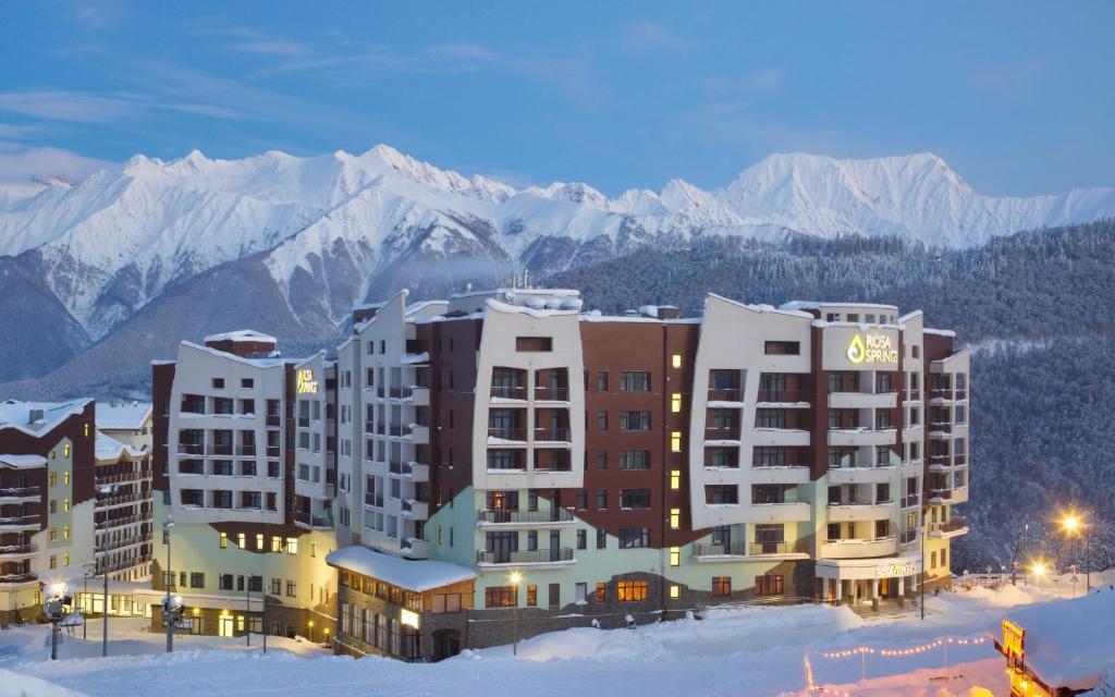 Medical Spa Hotel Rosa Springs зимой