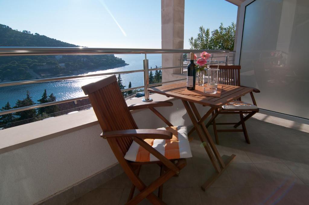 Balkon oz. terasa v nastanitvi Villa Katarina Dubrovnik
