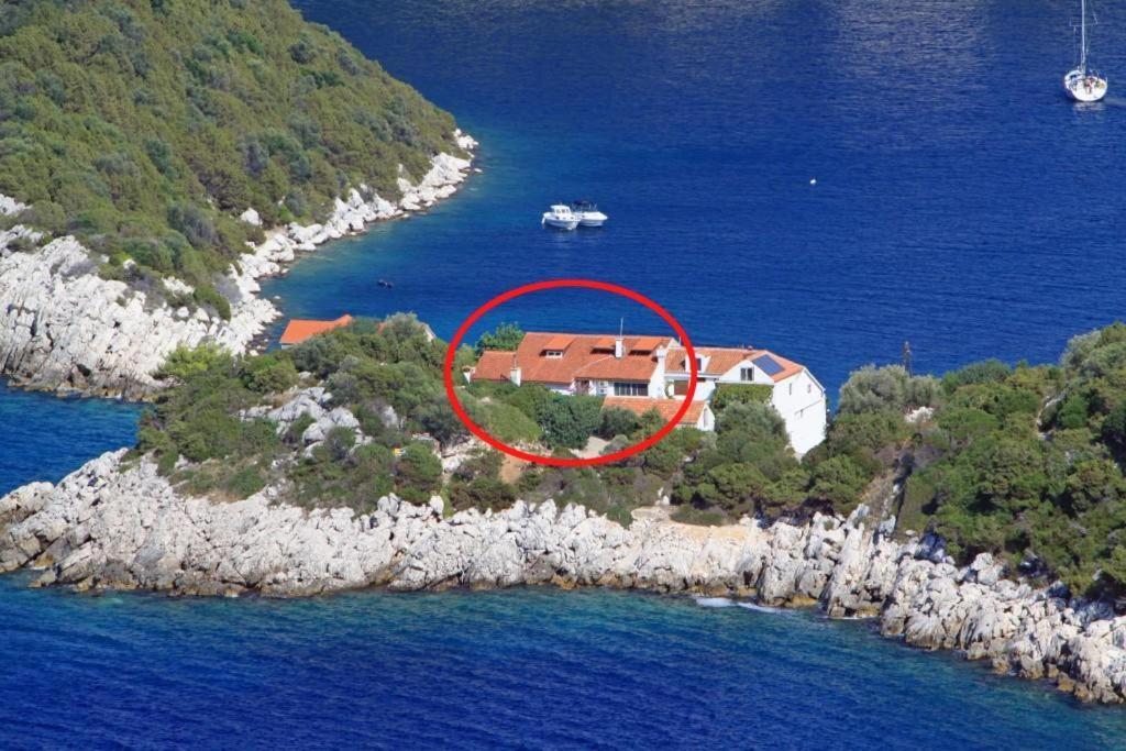 Pohľad z vtáčej perspektívy na ubytovanie Apartments by the sea Zaklopatica, Lastovo - 8341