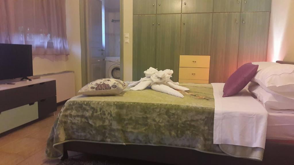 A bed or beds in a room at CENTRAL Studio - Fully equiped. Ideal for couples