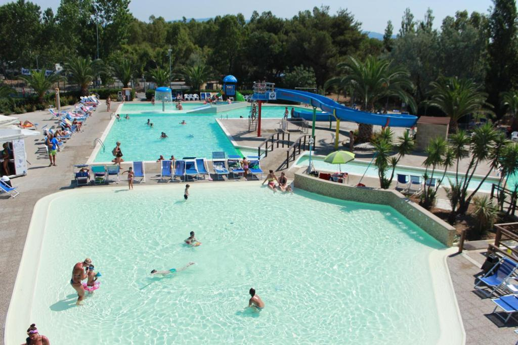 A view of the pool at Camping Village Baia del Marinaio or nearby
