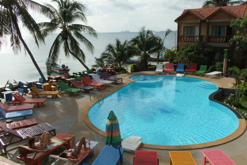 The swimming pool at or near Friendly Resort & Spa