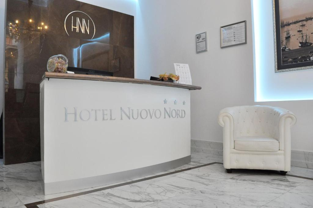 The lobby or reception area at Hotel Nuovo Nord