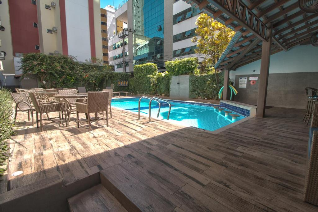 The swimming pool at or close to Hotel Gracher Praia