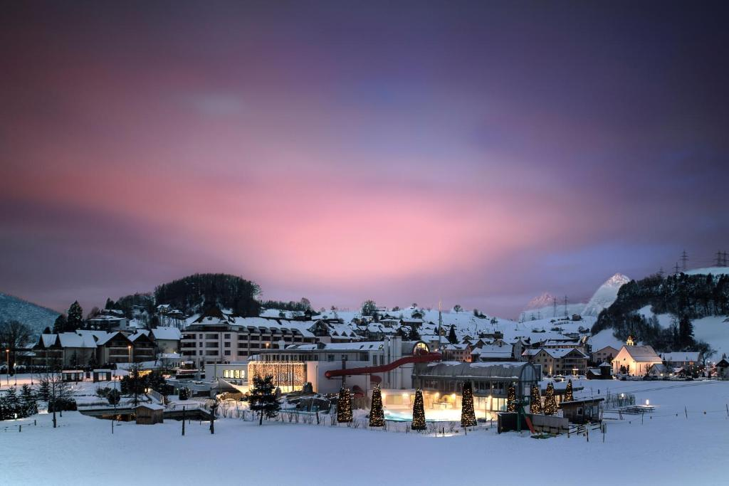 Swiss Holiday Park Resort im Winter