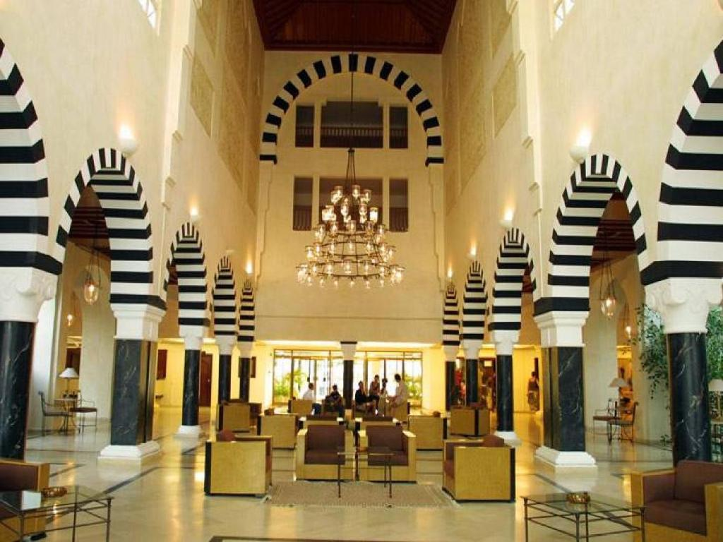 The lobby or reception area at Shalimar Hotel