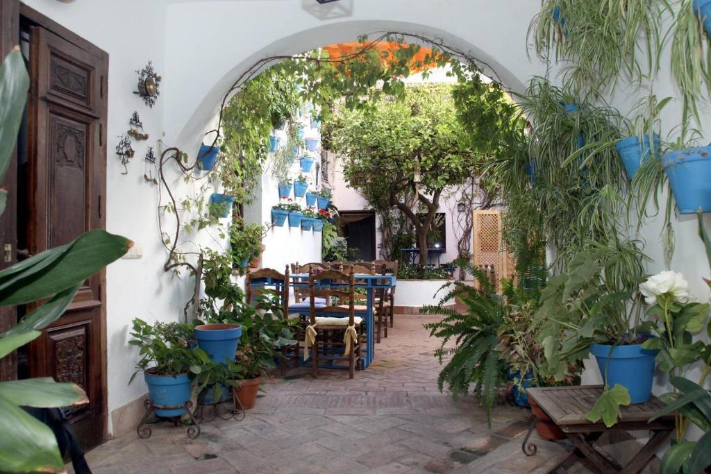 Un restaurante o sitio para comer en El Patio de Maria
