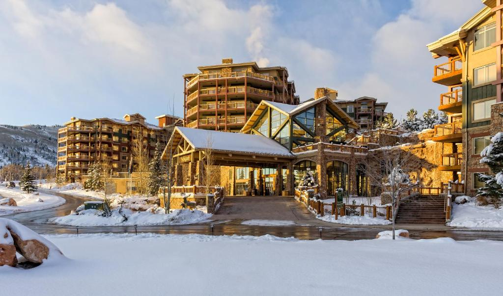 Westgate Park City Resort & Spa during the winter