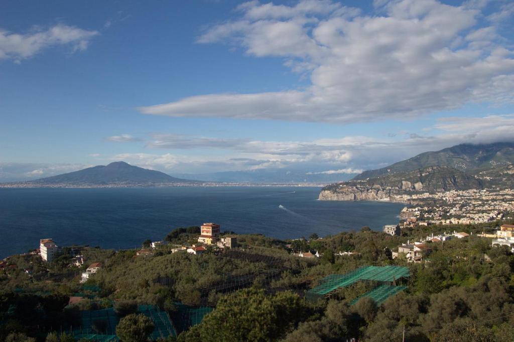Vue panoramique sur l'établissement Hotel Il Nido Sorrento