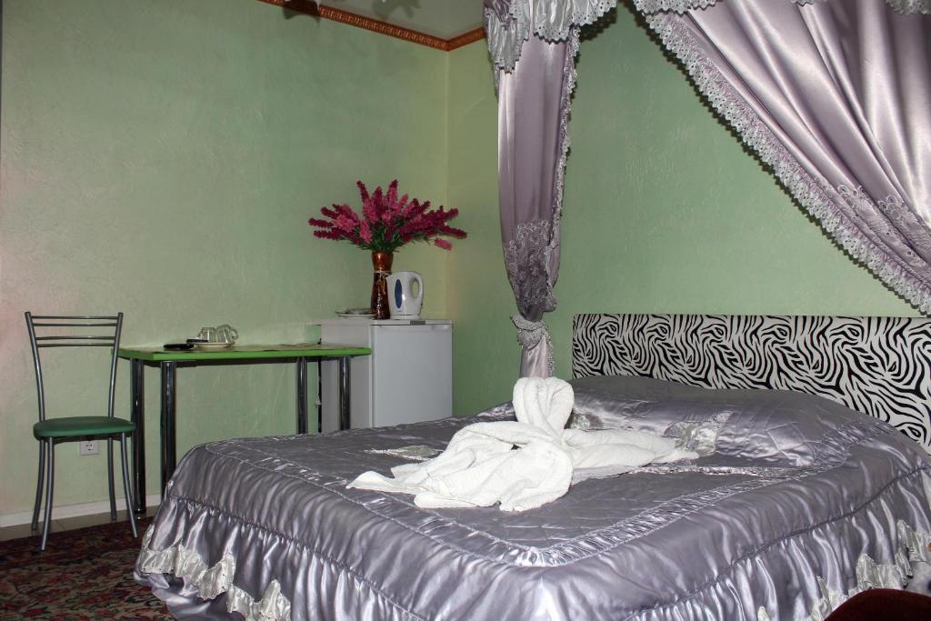 Кровать или кровати в номере K-54 Hotel