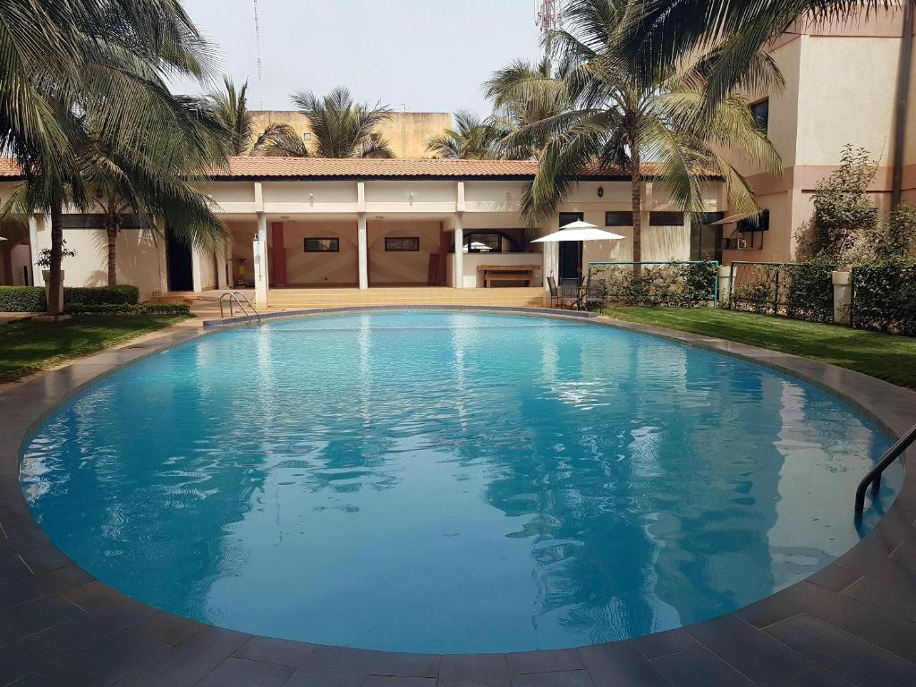 The swimming pool at or near Palace Hotel