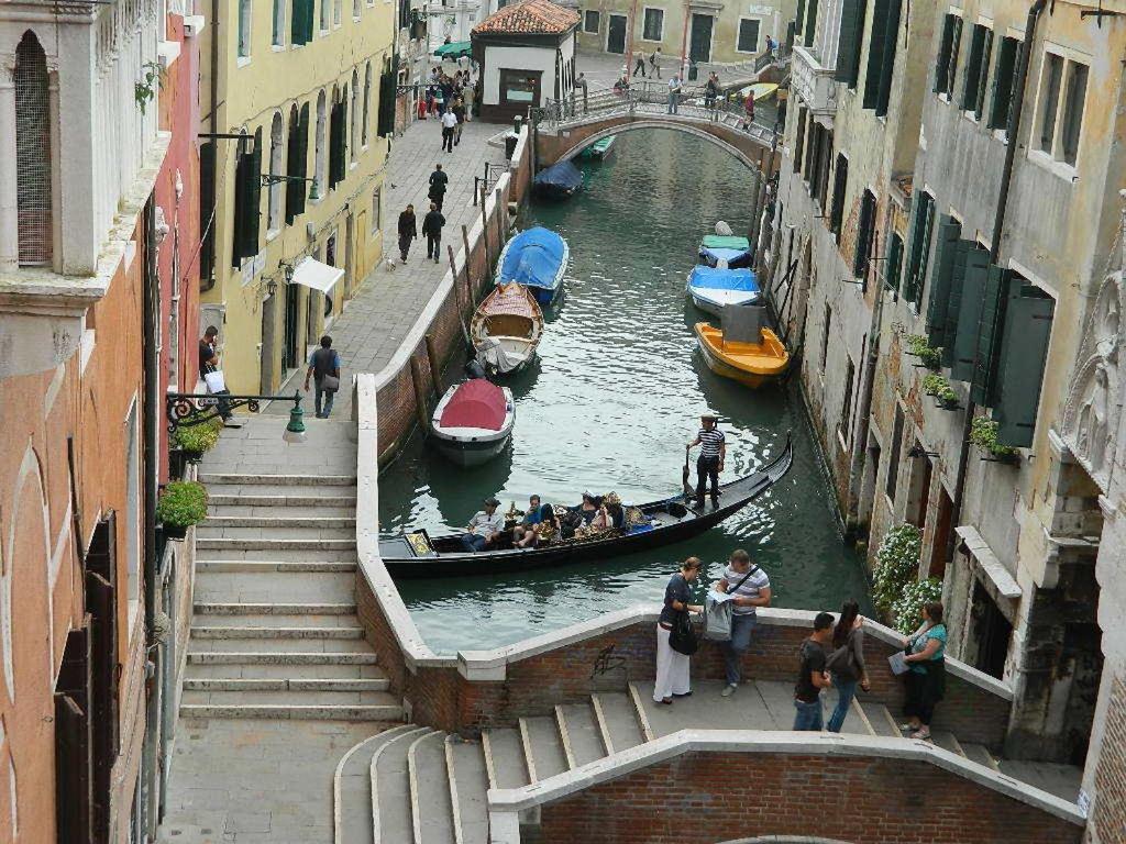Обои Venezia, venice, italy, катер, канал, дома, венеция. Города foto 19