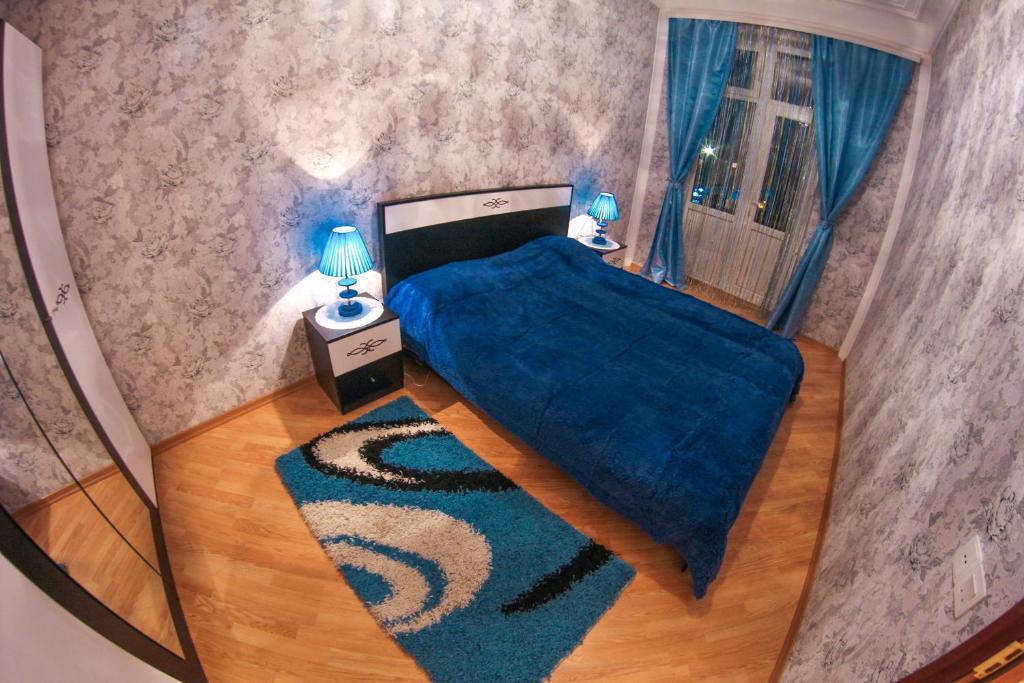 Cama ou camas em um quarto em Apartment Bilal