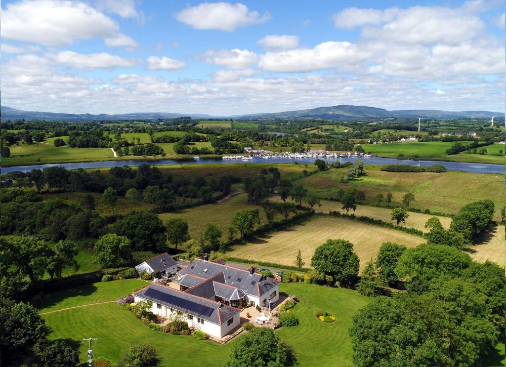A bird's-eye view of Willowbank House