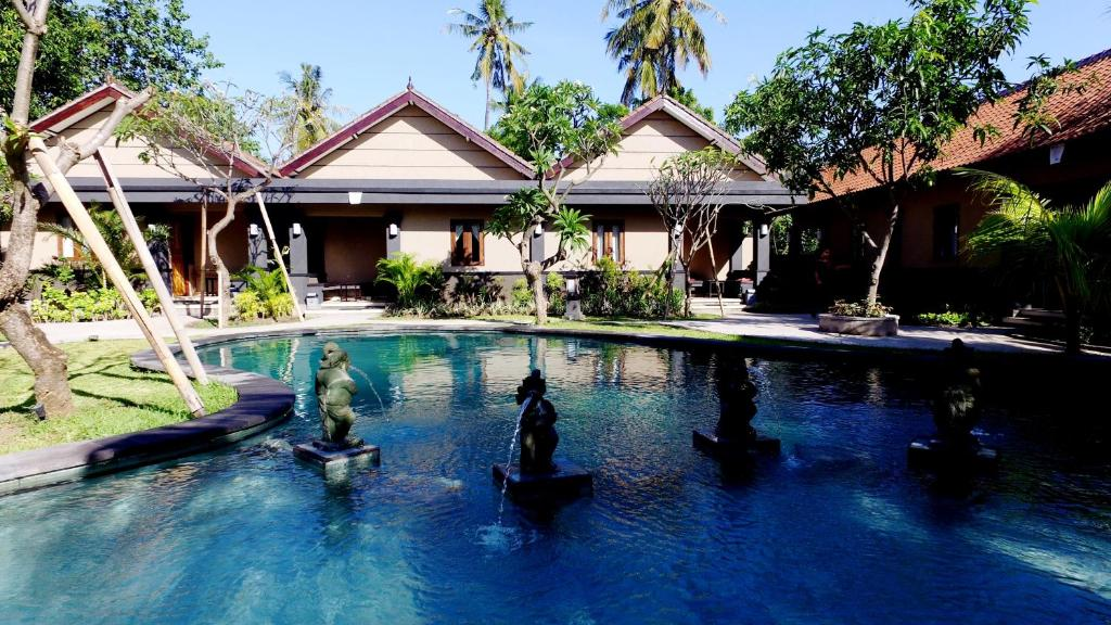 The swimming pool at or near Doubleyou Home Stay