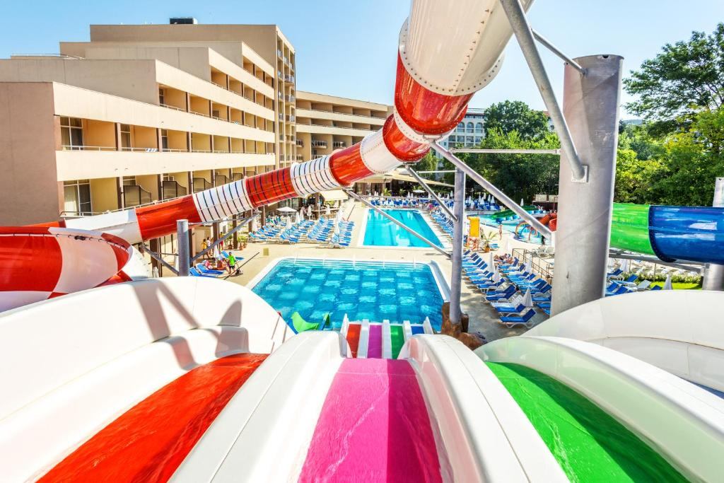 Water park at the hotel or nearby