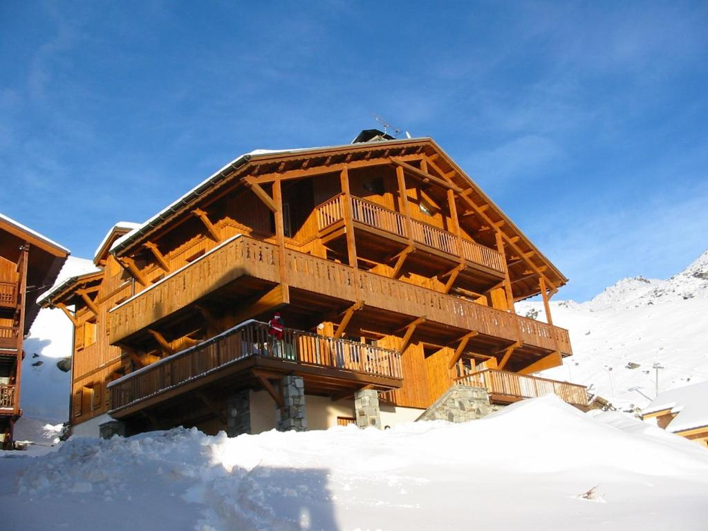 Bouquetin Appartements Val Thorens Immobilier during the winter