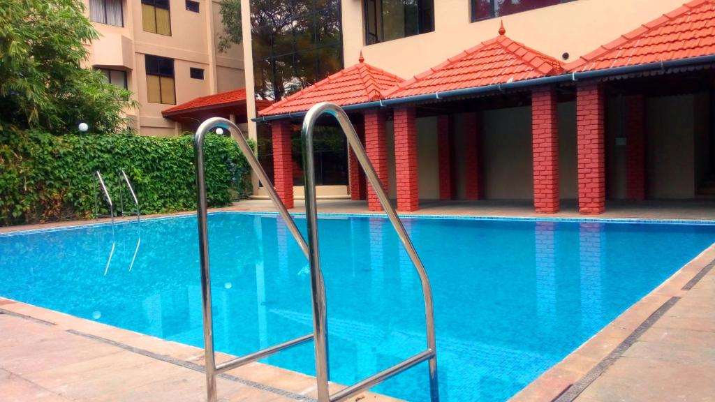 The swimming pool at or close to Sopanam Heritage