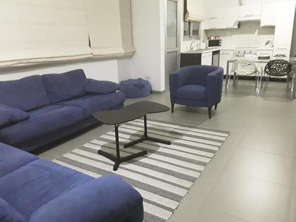 A seating area at Julia's Residence