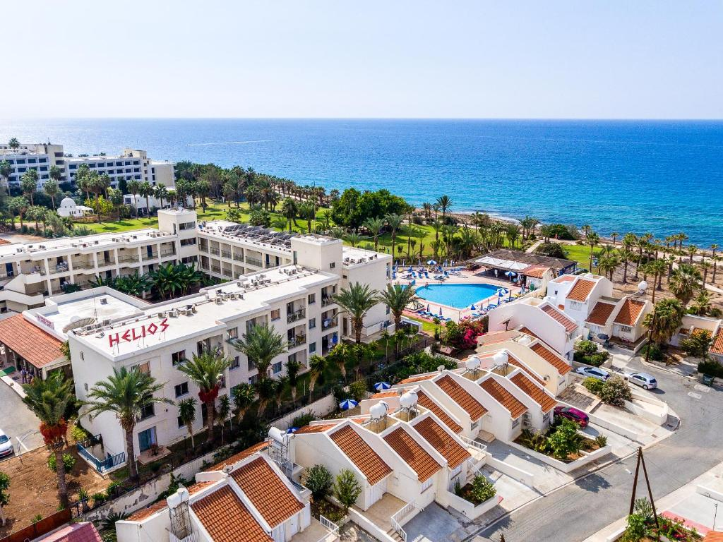 A bird's-eye view of Helios Bay Hotel and Suites