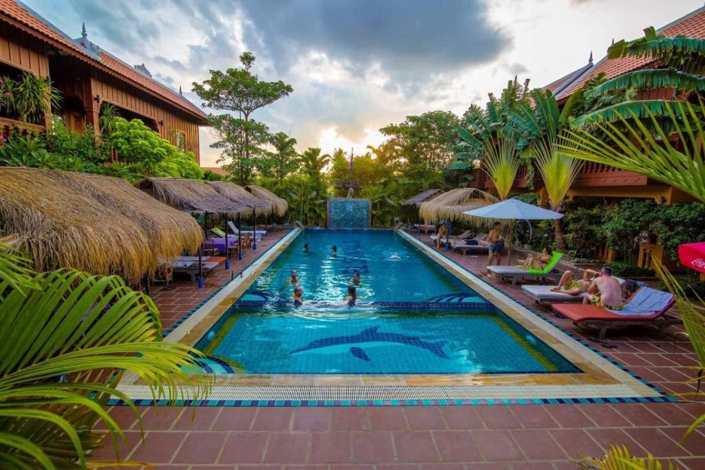 The swimming pool at or close to Delux Villa