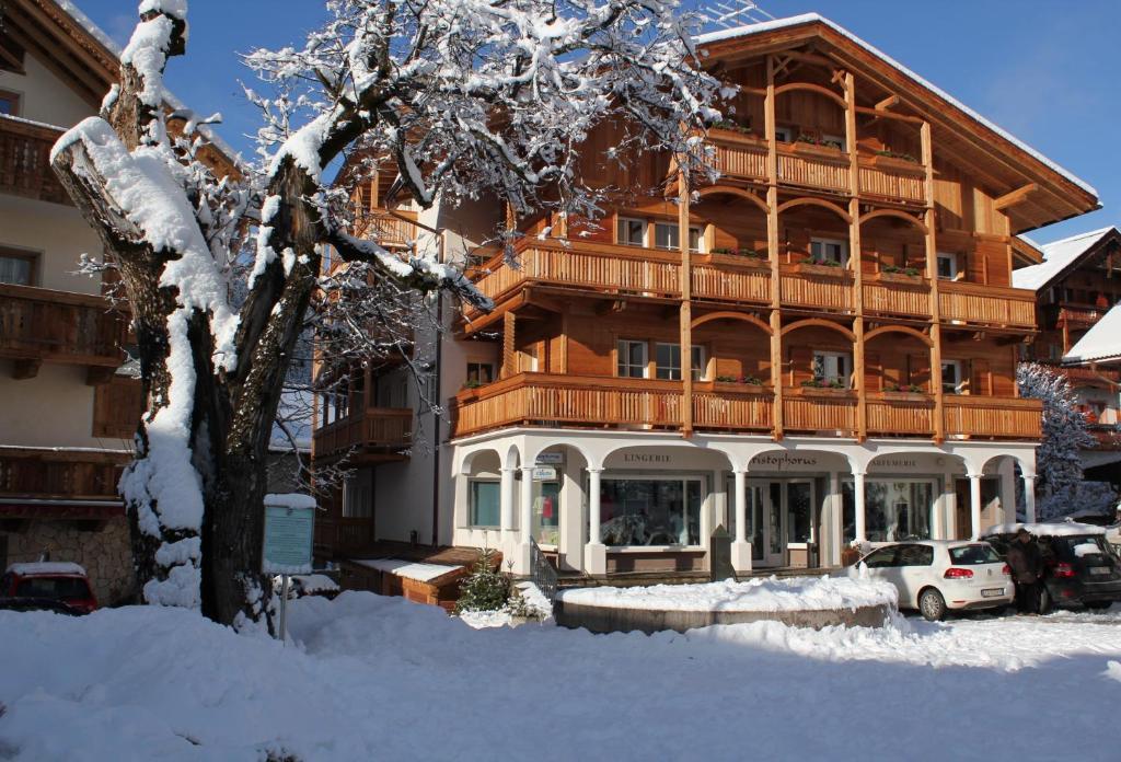 Christophorus Mountain Residence during the winter