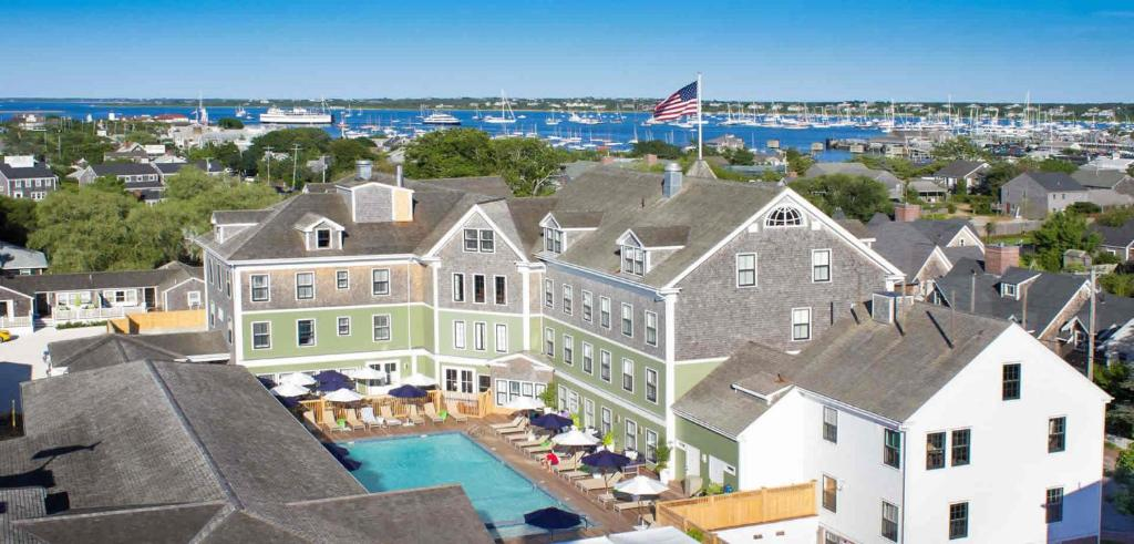 A bird's-eye view of The Nantucket Hotel & Resort