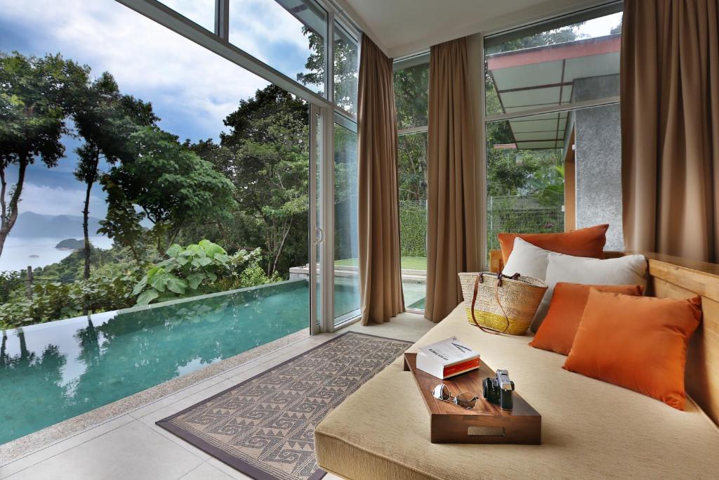 Ambong Pool Villas Private Pool Pantai Cenang Malaysia Booking Com