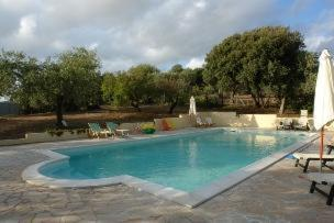 The swimming pool at or near B&B Nidi Della Poiana