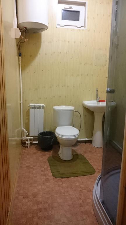 "A bathroom at Адыгея""Хаджохский отдых"""