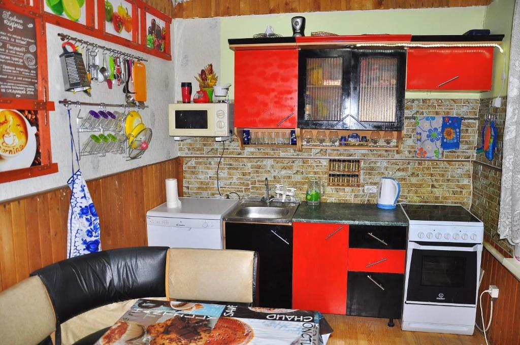 Кухня или мини-кухня в Абажур