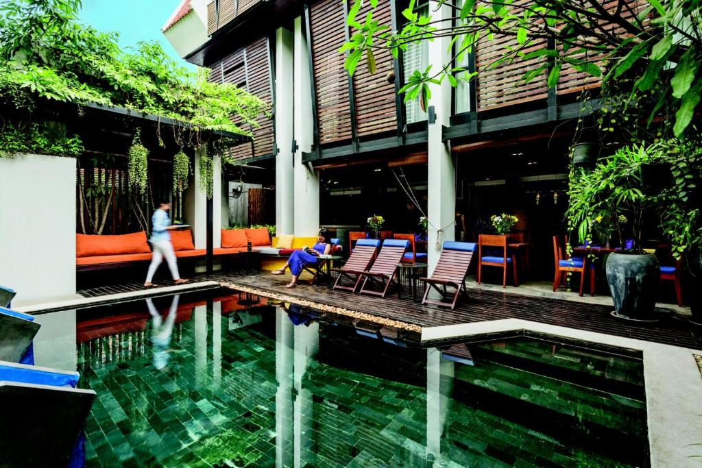 The swimming pool at or near The Butterfly Pea
