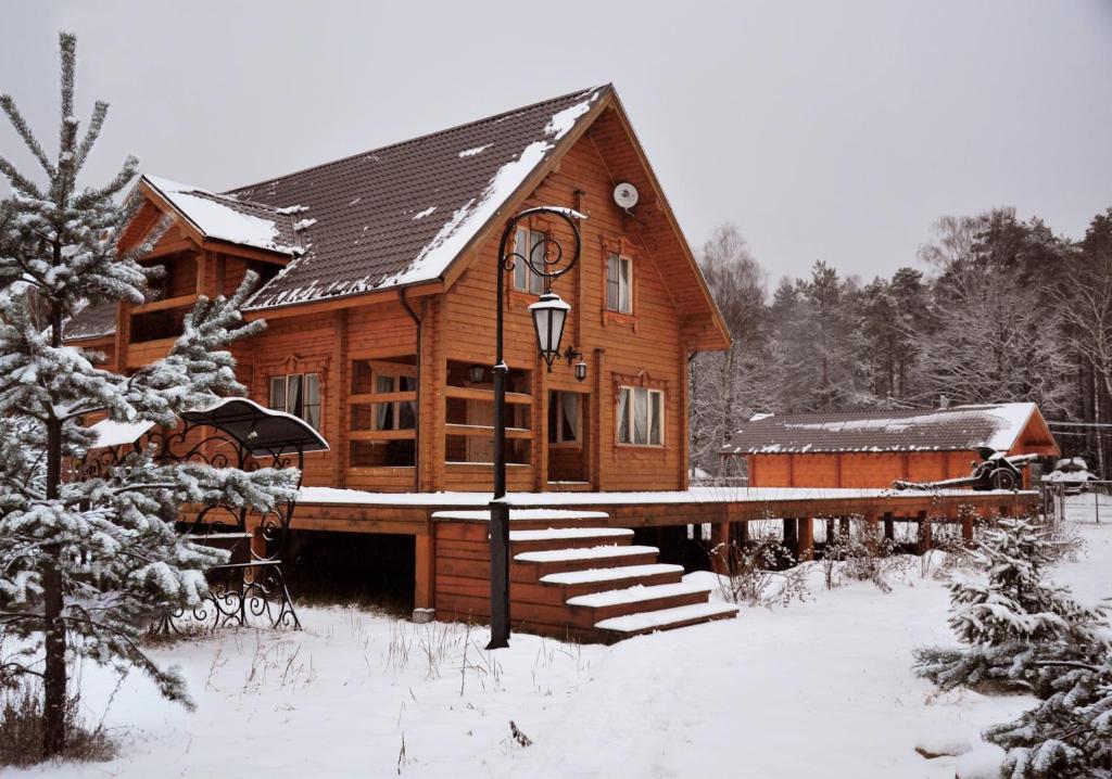 Nikolo-Pole Park Hotel зимой
