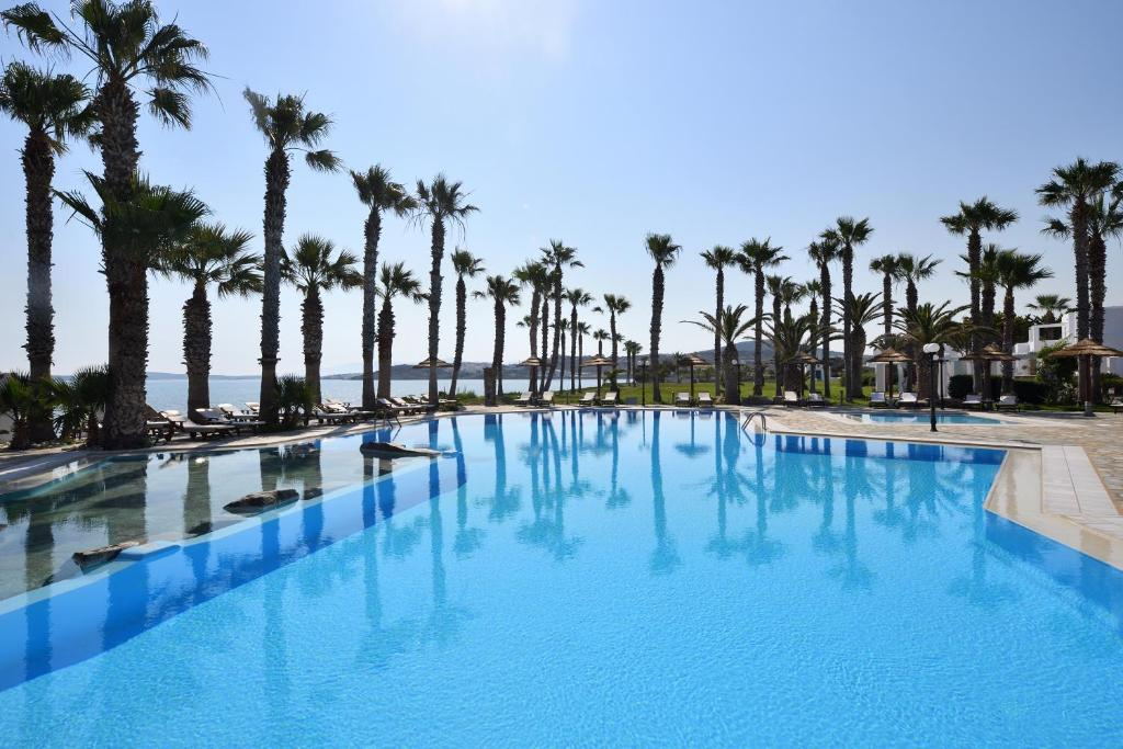 The swimming pool at or near Astir Of Paros