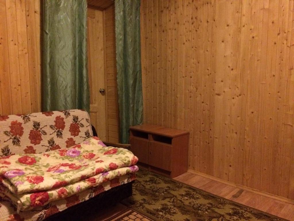 """A bed or beds in a room at Адыгея""""Хаджохский отдых"""""""