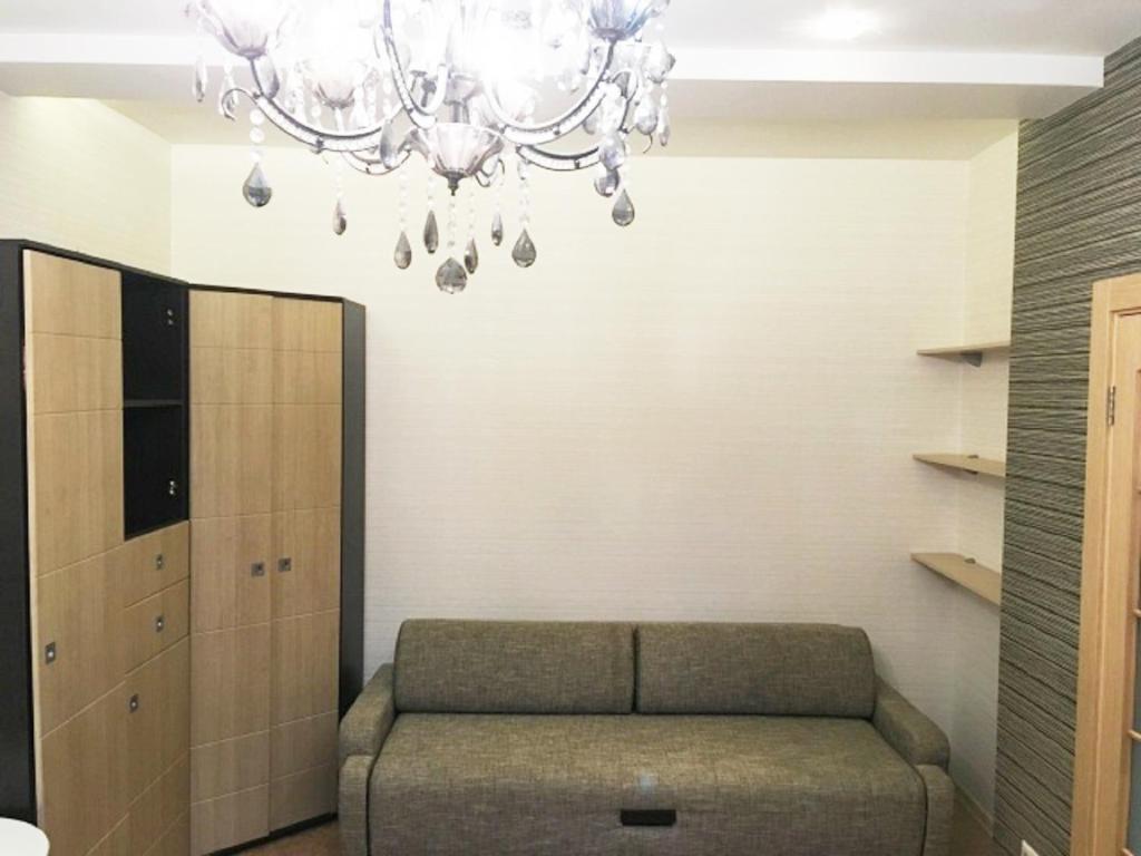 Гостиная зона в Апартаменты на улице 1-ая Дубровская
