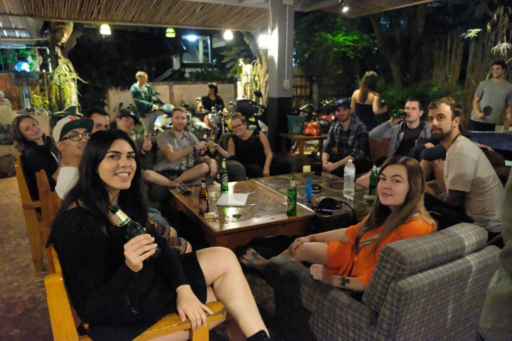 Guests staying at Happy House Backpackers