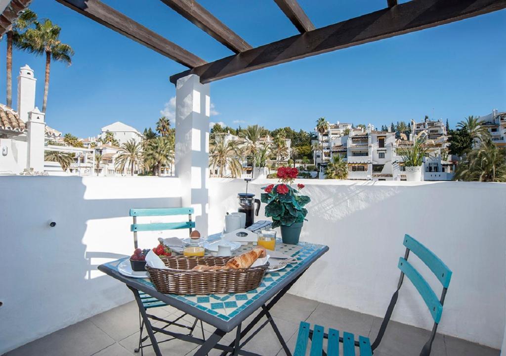 Un balcón o terraza de The Ivy Penthouse