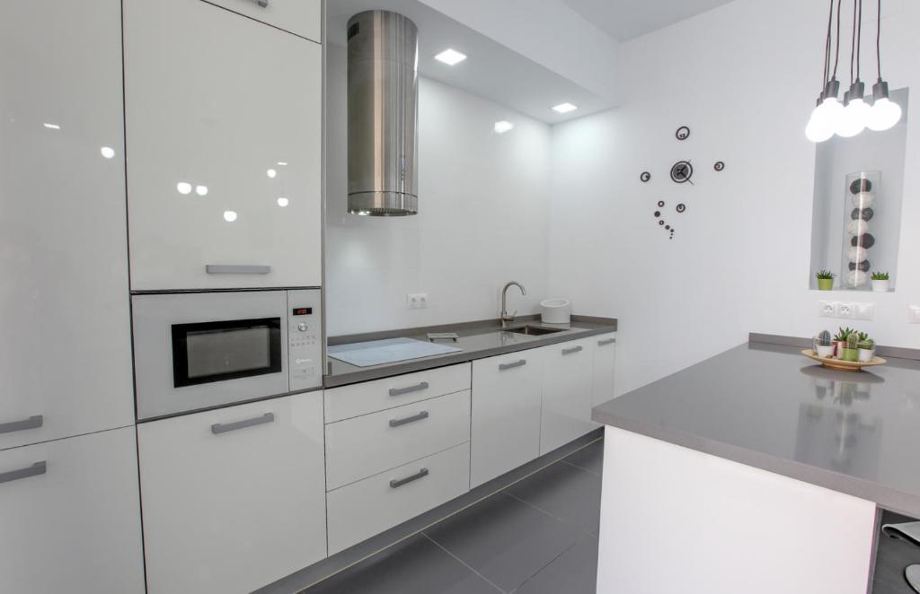 Kuchyň nebo kuchyňský kout v ubytování Loft en el centro - Parking FREE