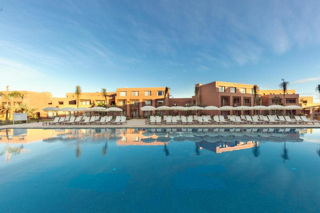 The swimming pool at or near Be Live Experience Marrakech Palmeraie - All Inclusive