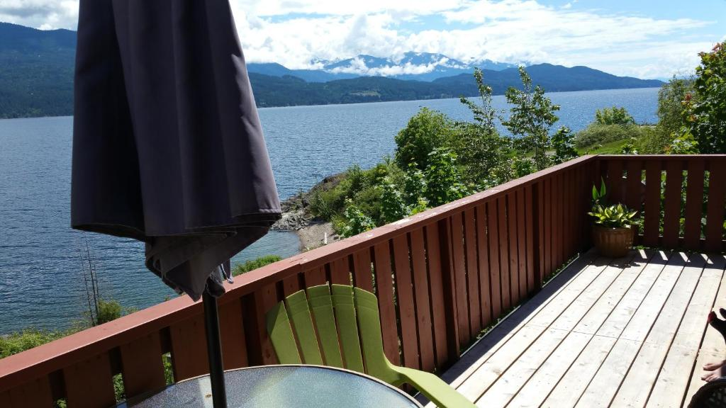 A balcony or terrace at Ainsworth Springs Suites - Guesthouse