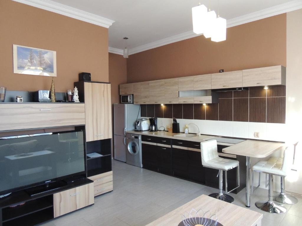 Kuchnia lub aneks kuchenny w obiekcie Apart Swinoujscie