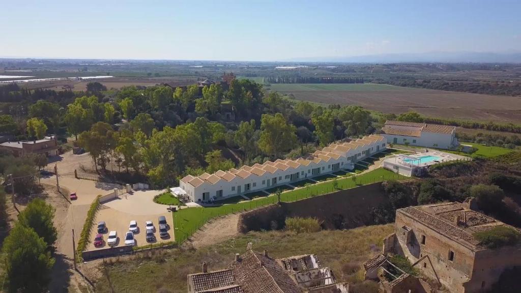 Een luchtfoto van IL FILARO del Castello di San Basilio