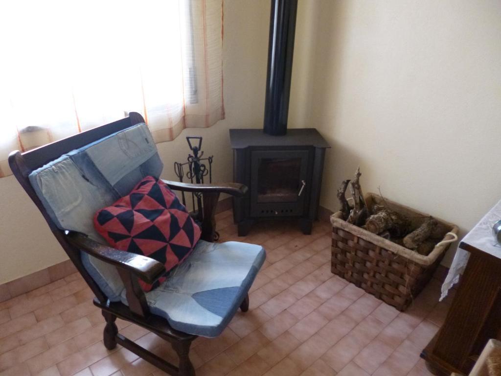 A seating area at Casa de Santana