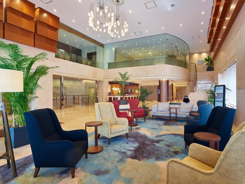 熊本三井花園酒店大廳或接待區