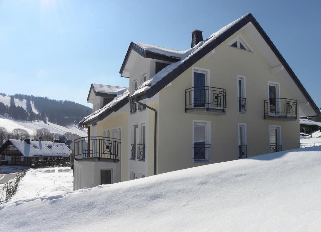 Villa Wunderbar im Winter
