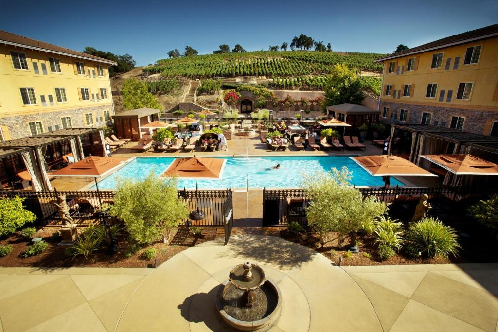 A view of the pool at The Meritage Resort and Spa or nearby